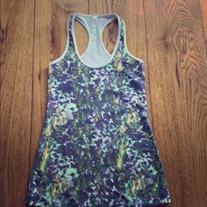 Lululemon printed athletic tank